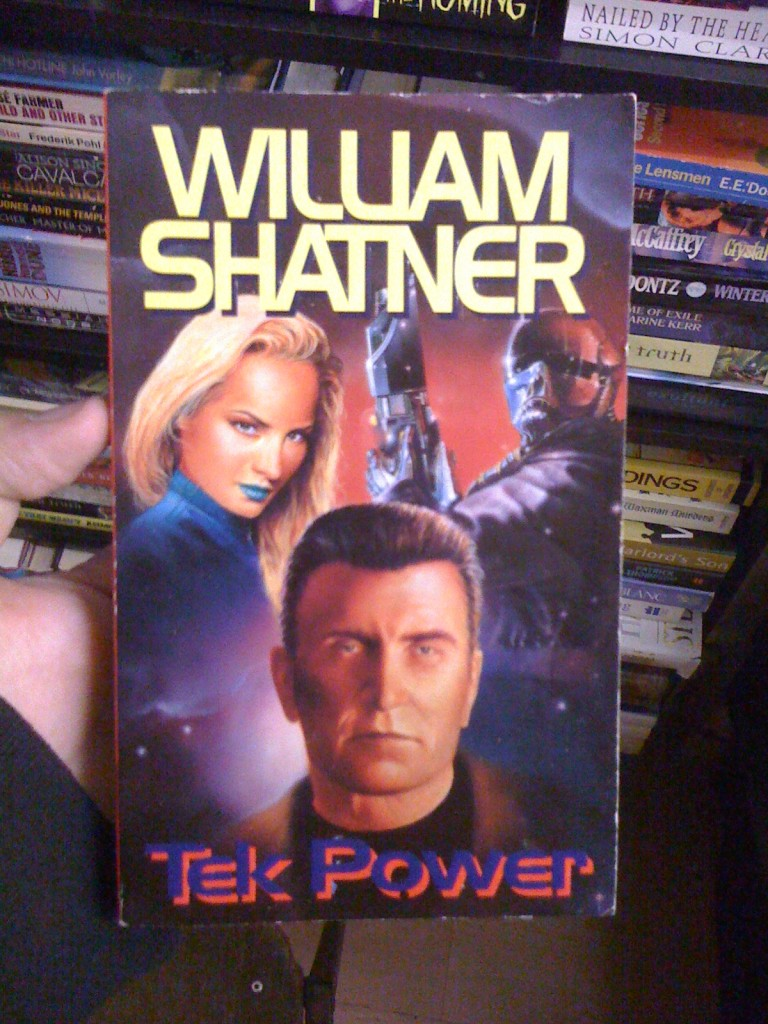 Shatner is comedy, right?