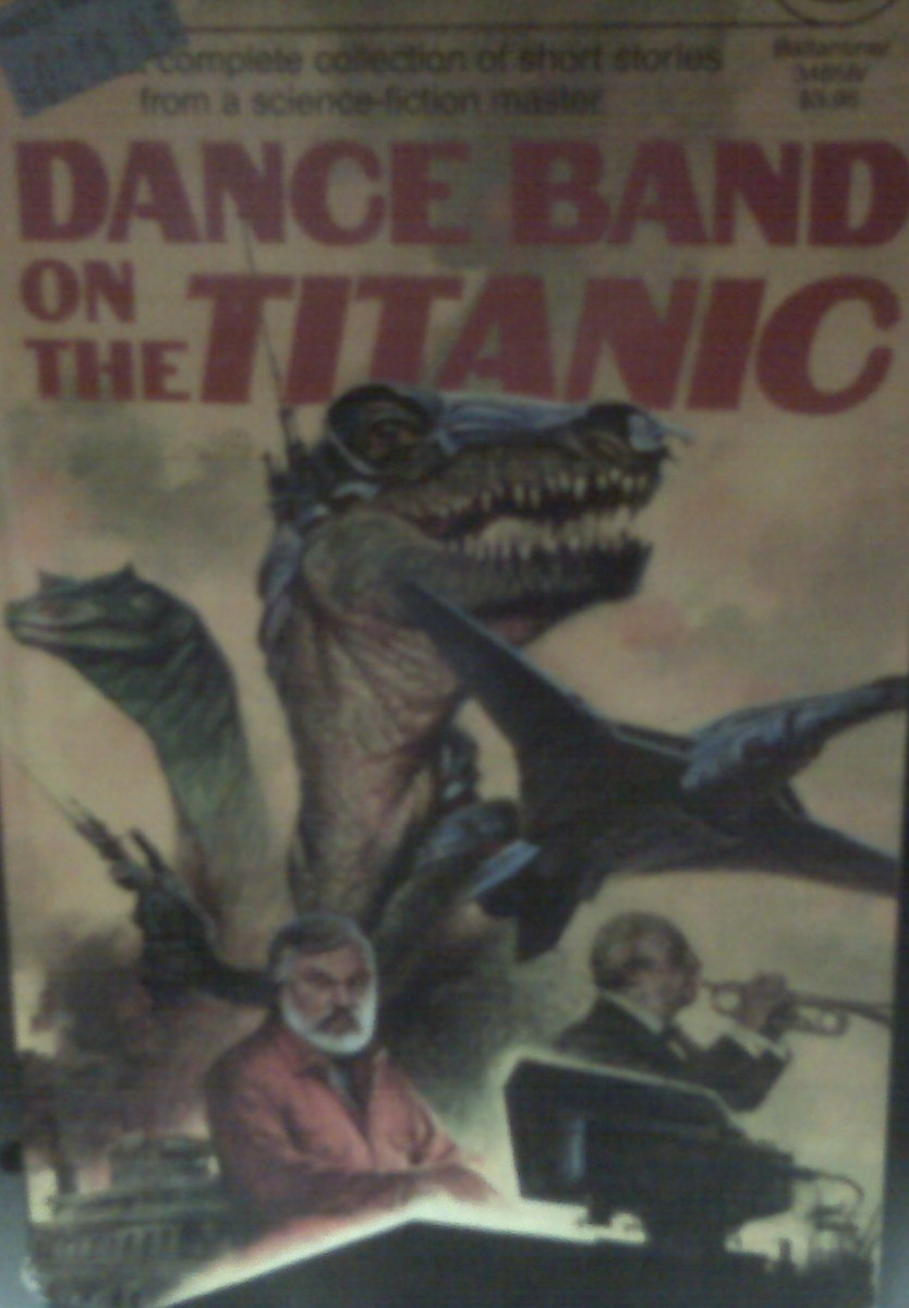 YES! That t-rex IS holding a laser gun!