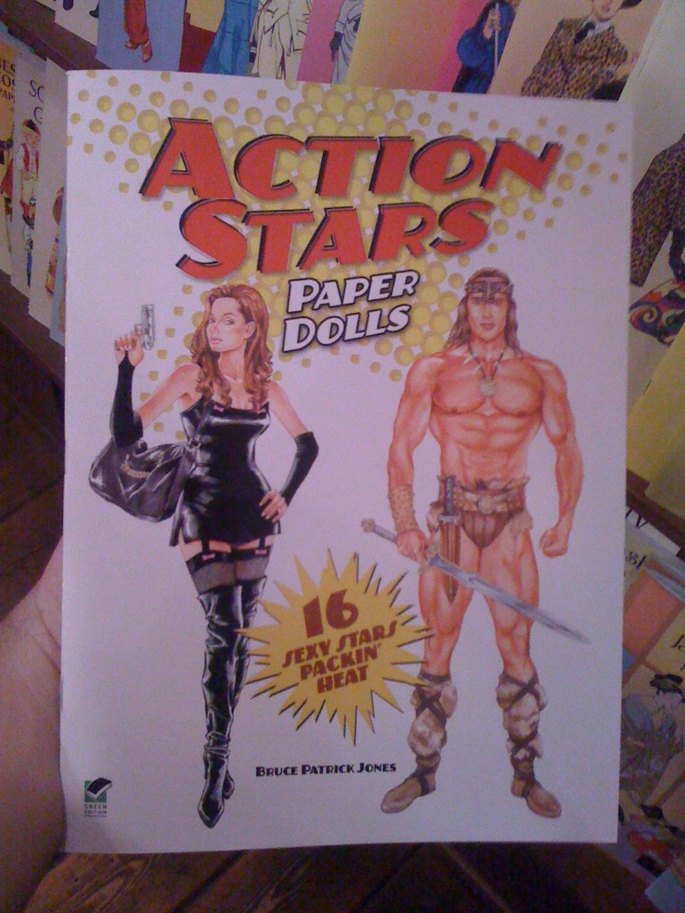 Paper Dolls... more manly than just dolls. Or at least, that's what I told myself.