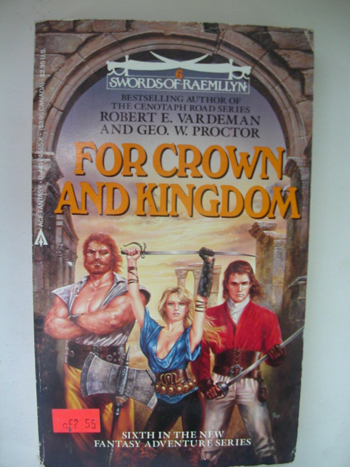 For Crown and Kingdom (Swords of Raemllyn Book 6)