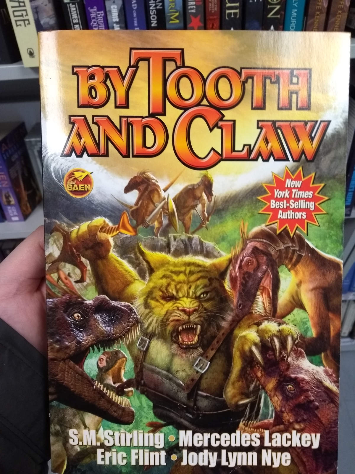 By tooth and claw and swords and raptors!