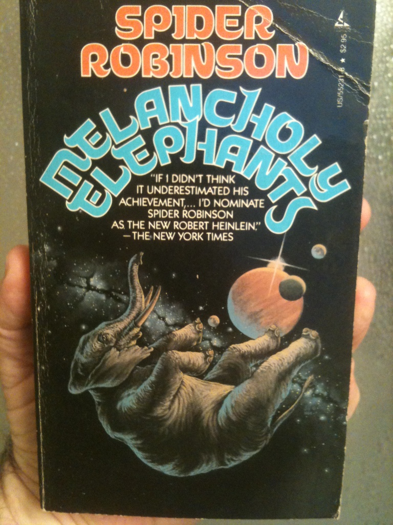 Elephants have the natural ability to survive in the vacuum of space. No? Well, draw it that anyway, bub.