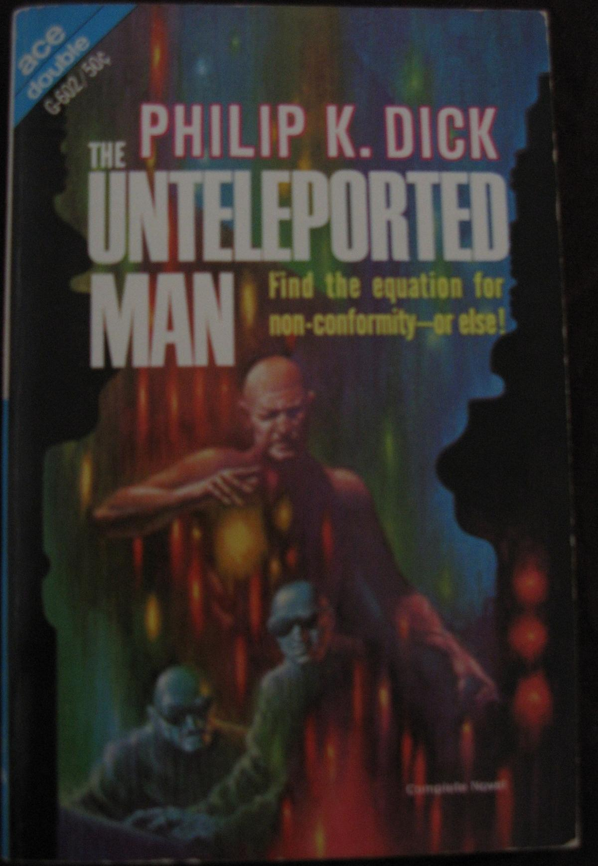 Unteleported... into another mans crotch!