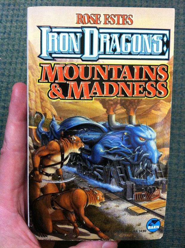 A dragon phallic train? No way am I... 'boarding'... that!