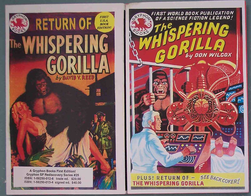 Prequels to 'The Whispering Gorilla Whisperer'