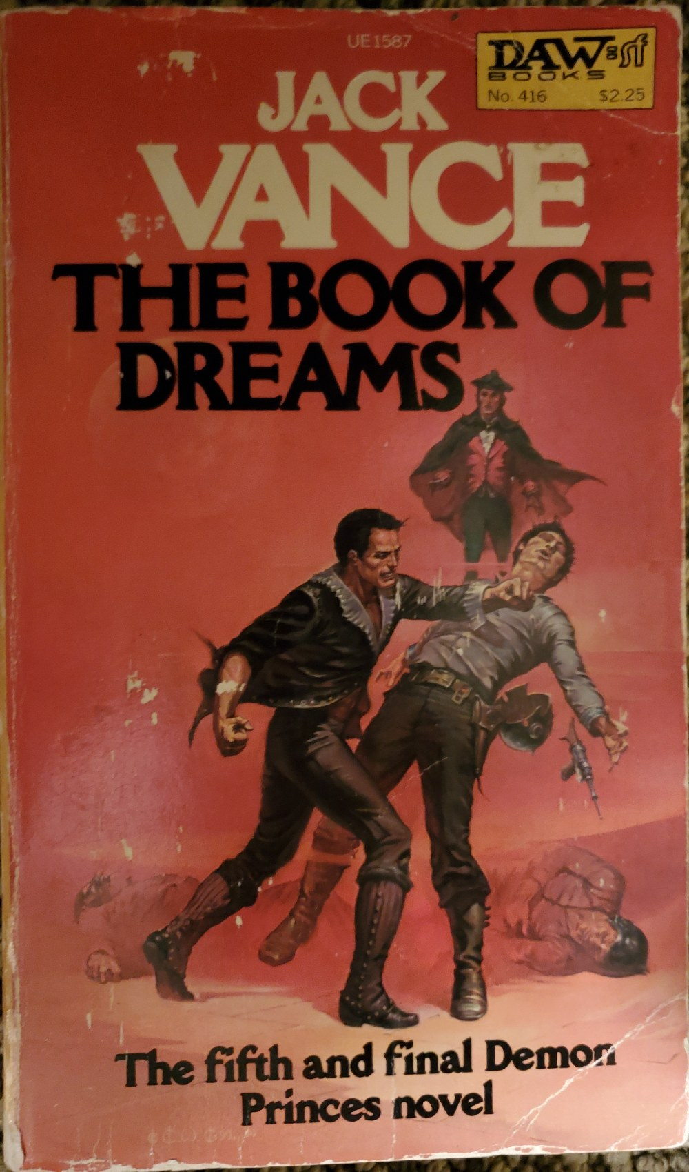 'I got your book of dreams right here, buddy'