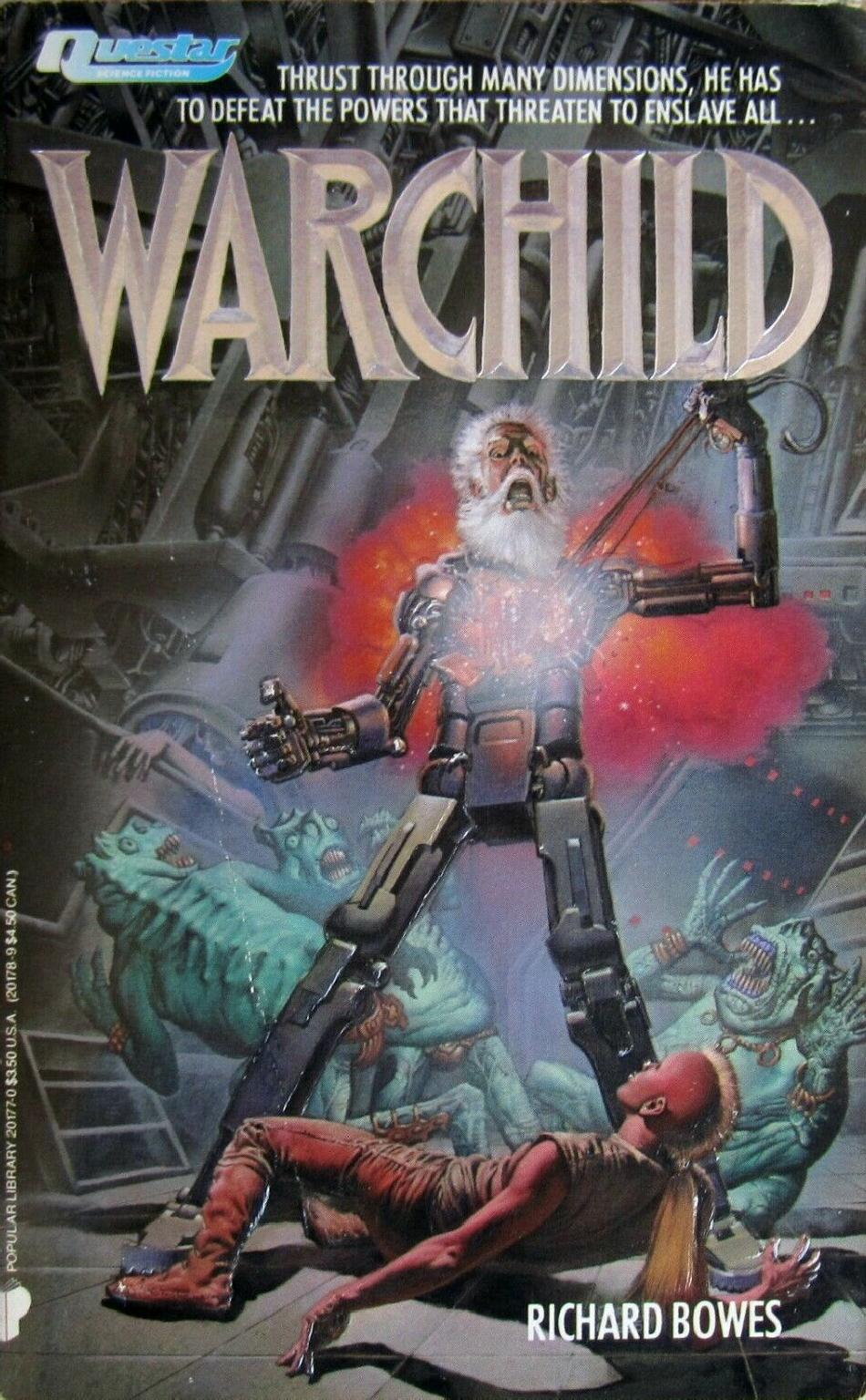 The Warchild is father to the warman.